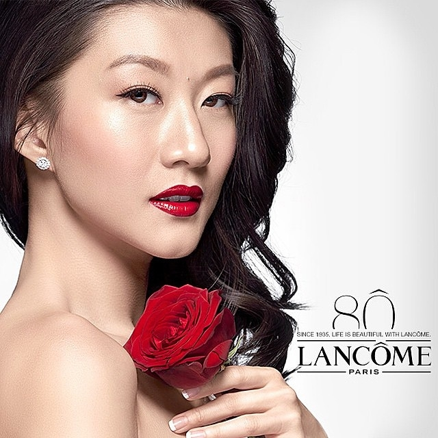 Lancome with Stella Rissa
