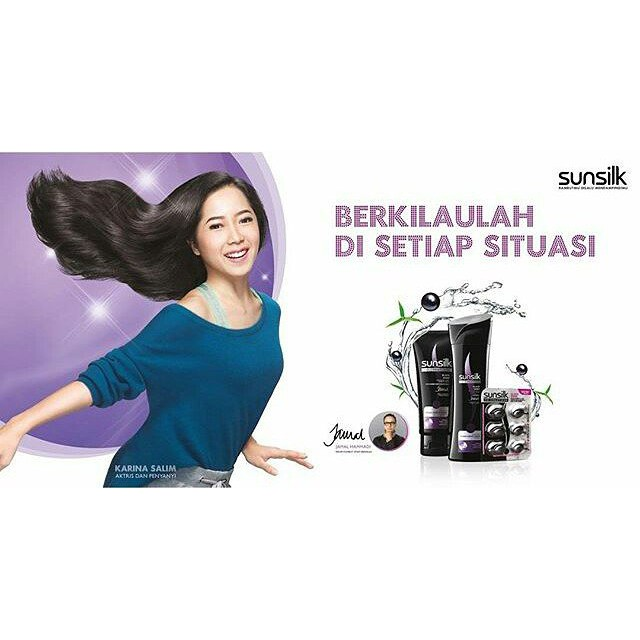 Sunsilk Black Shine - Karina Salim