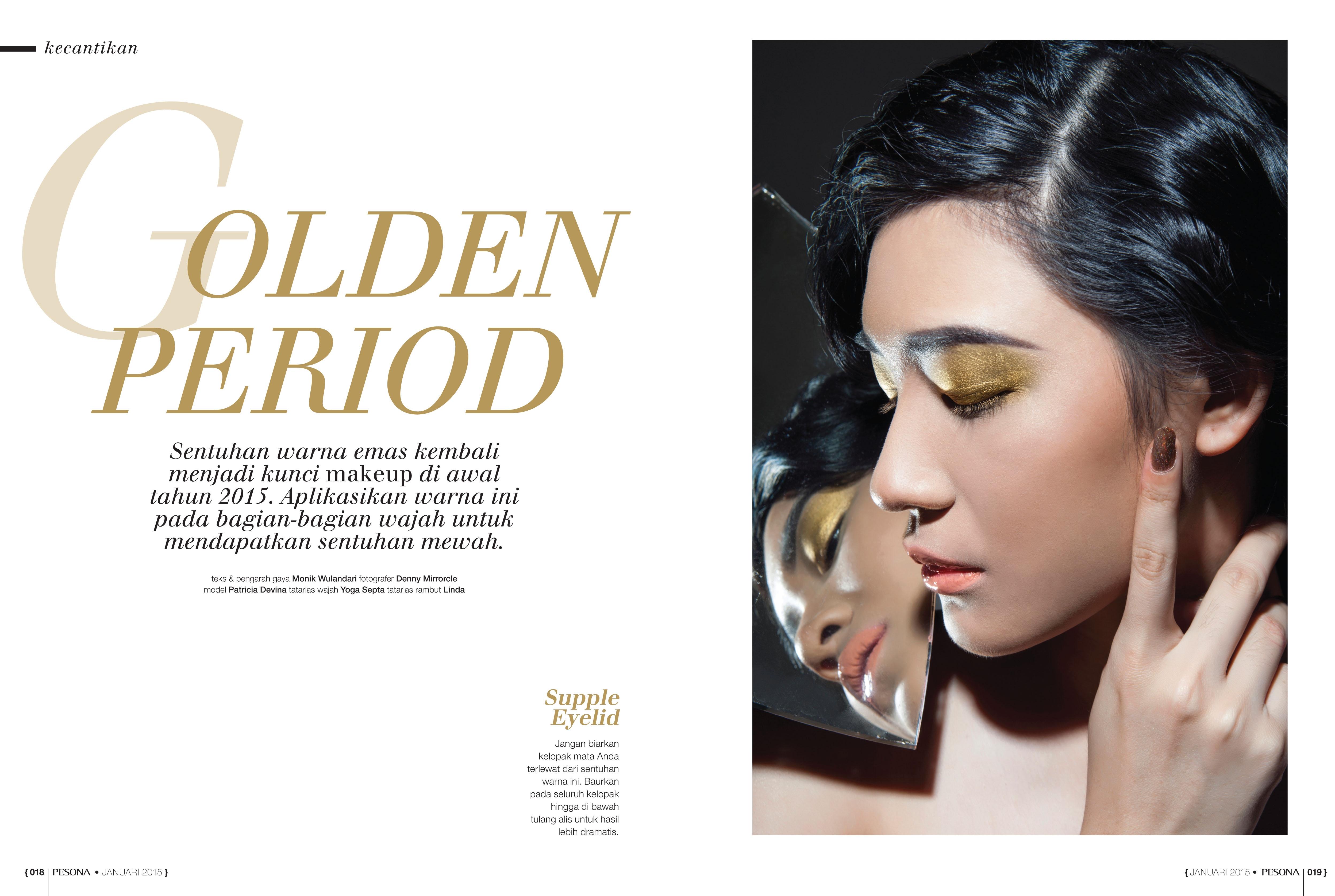Spread PESONA Magazine - January '15
