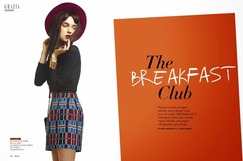 The Breakfast Club for GRAZIA Indonesia