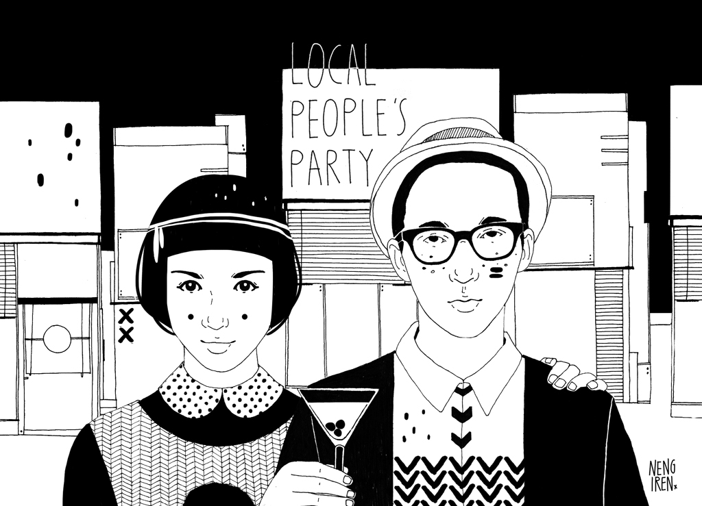 Local People's Party Monolog Launching Party Pondok Indah, Jakarta, September 2013