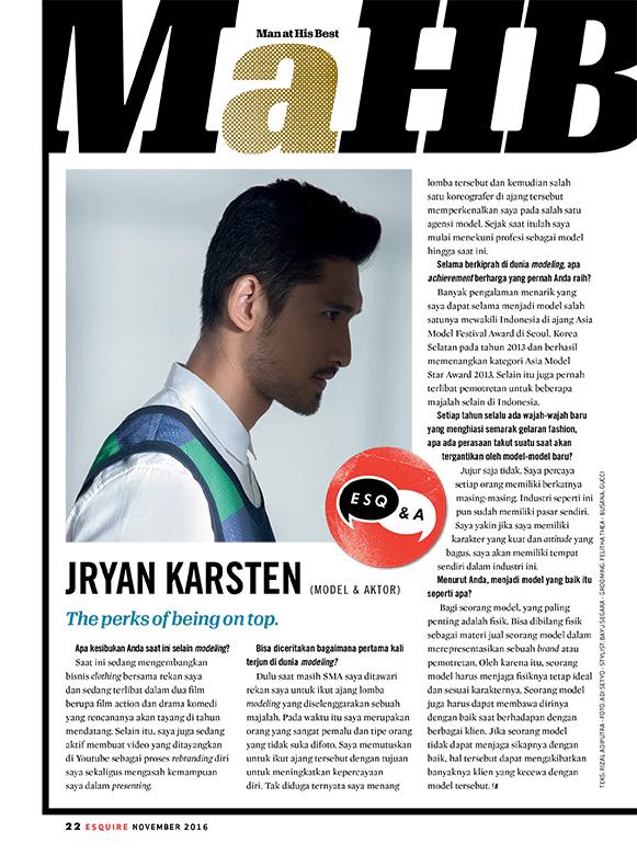 Esquire Nov'16