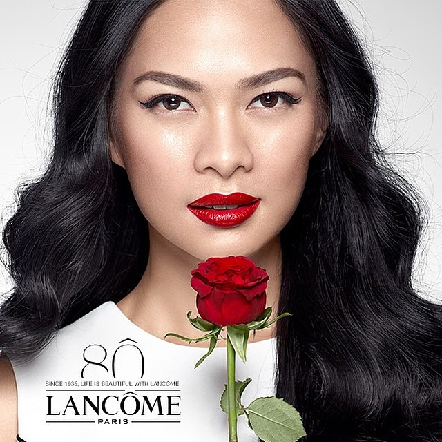 Lancome with Messty Ariotedjo