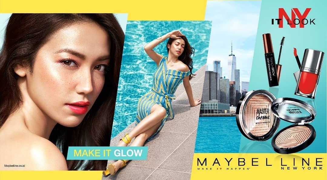 Yoland Handoko for MAYBELLINE NEW YORK Indonesia