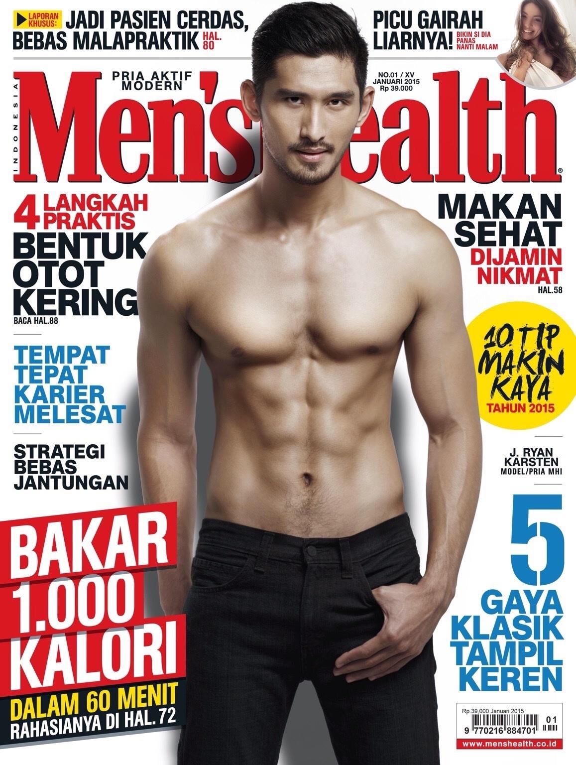 For Men's Health Cover 2015