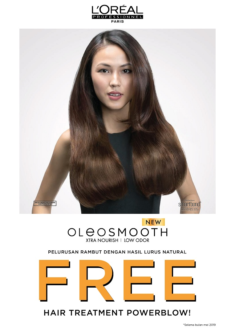 Mediana for L'Oreal Professionnel OLEOSMOOTH